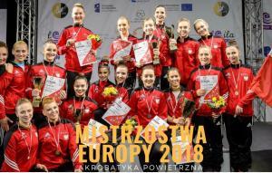 Mistrzostwa europy na szarfach i kołach powietrznych 2018