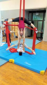 Akrobatyka na powietrznych szarfach i kołach dla dorosłych Katowice (2) (Copy)