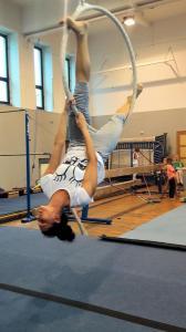 Akrobatyka na powietrznych szarfach i kołach dla dorosłych Katowice (4) (Copy)